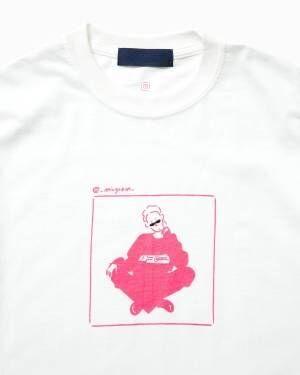 イラストレーター長場雄×ビームスT、SNSで話題の4人を描いたTシャツが登場
