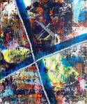 baanaiの個展、代官山で開催 - コム デ ギャルソンのアートを手掛けたアーティスト