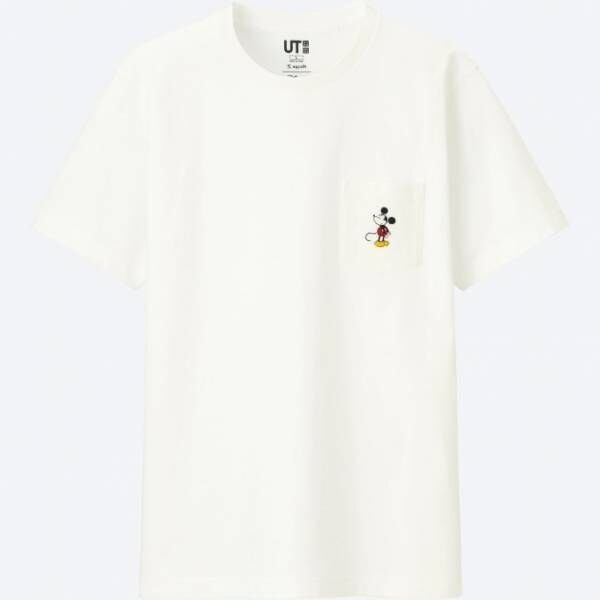 ユニクロ「UT」ミッキーマウスがテーマのTシャツ、長場雄ら6名のアーティストが独自のタッチで描く