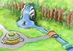 シルバニアファミリーの世界を再現したテーマパーク「シルバニアパーク」茨城こもれび森のイバライドに誕生
