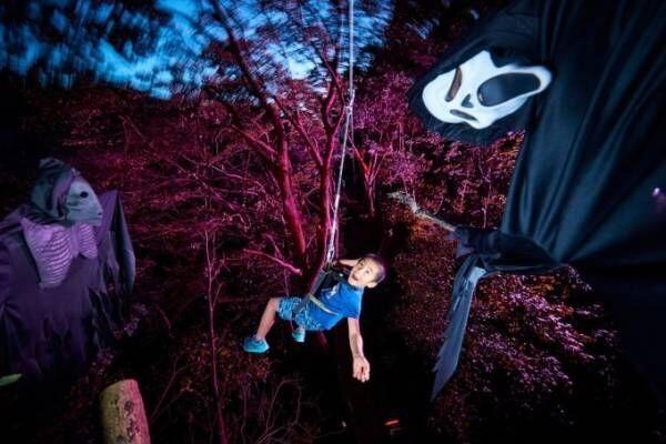 星野リゾート リゾナーレ熱海、夏の夜限定の樹上アスレチック「空中きもだめし」を開催