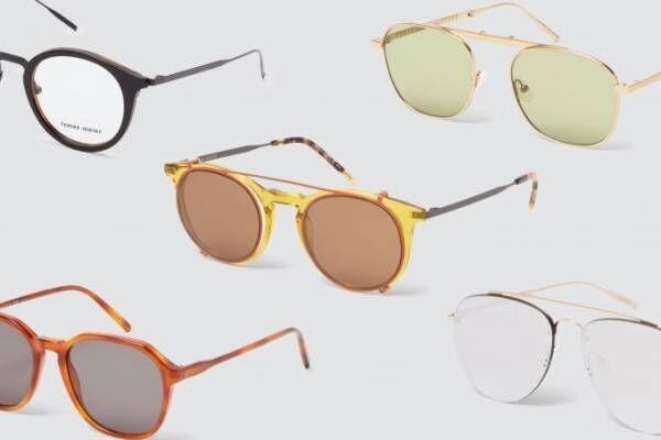 トーマス マイヤーの新作アイウェアが恵比寿コンティニュエに、折り畳みサングラスなどフルラインナップで