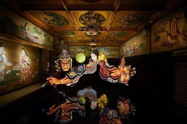 あかりのアート展「和のあかり×百段階段2018」をホテル雅叙園東京で - 文化財を舞台にした光の世界