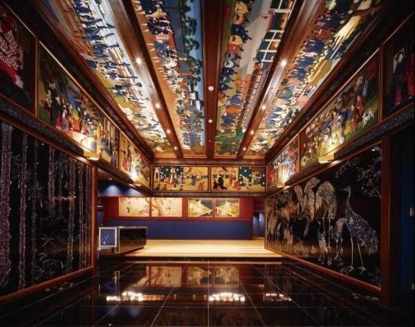 """ホテル雅叙園""""ミュージアムホテル""""内絢爛豪華な美術品を巡る「アートツアー」スタート"""