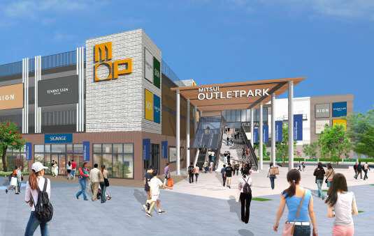 三井アウトレットパーク横浜ベイサイドがリニューアル - 2020年春開業予定、店舗数を約150に拡充