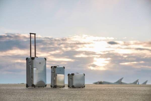 グローブ・トロッター英国王立空軍へ捧げる新トランク、縦開きでも簡単に開閉