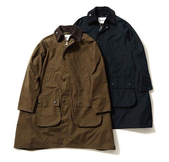 バブアー×ビームス ボーイ「バルベニー ジャケット」発売、ベストセラーアウターを合体した特別モデル