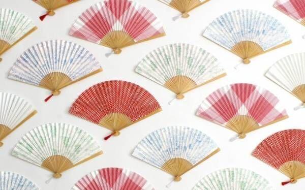 """扇子の老舗「宮脇賣扇庵」""""シミ有り""""竹を使用した京扇子をパスザバトンで販売"""