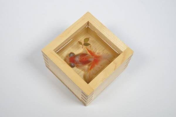 金魚絵師・深堀隆介のイベント「金魚水墨館」西武渋谷店でライブ・ペインティング