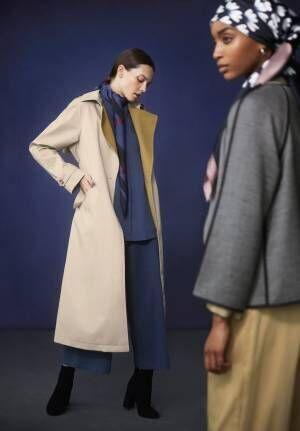 「ハナ タジマ フォー ユニクロ」18年秋冬 - 光や季節の移り変わりを表現、豊かな色彩のコートなど