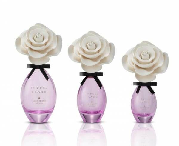 """ケイト・スペード ニューヨーク""""満開に咲くローズ""""をイメージした新香水「インフルブルーム」"""