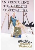 ヴィヴィアン・ウエストウッド18秋冬ビジュアル、ベルンハルト・ウィルヘルムのデジタルアートを背景に