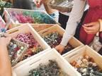 2000種以上の植物が集まる「フラワーアンドグリーンマーケット」青山で、ドライフラワーのアレンジも