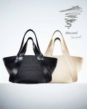 ディスコード ヨウジヤマモト、麻製の限定ハット&バッグをギンザ シックス店で先行発売