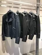 Scye直営店でバイカージャケットのカスタムオーダー会、4型7素材14色からオリジナルの1着