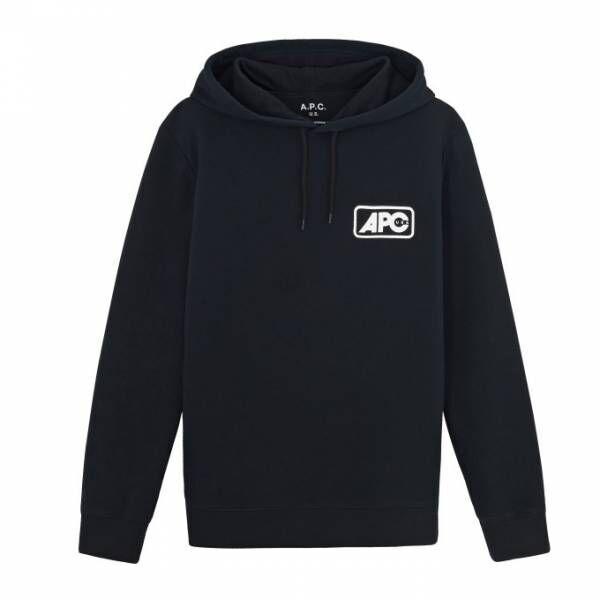 A.P.C.のアメリカ製「U.S.コレクション」第4弾、グラフィカルな新ロゴを配したTシャツなど