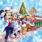 東京ディズニーランド&シーの「ディズニー・クリスマス」35周年を祝う様々なイベント&グッズ