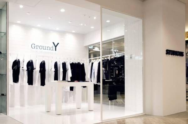 ステュディオス メンズ新宿店内に「グラウンド ワイ」常設店舗オープン、限定Tシャツも