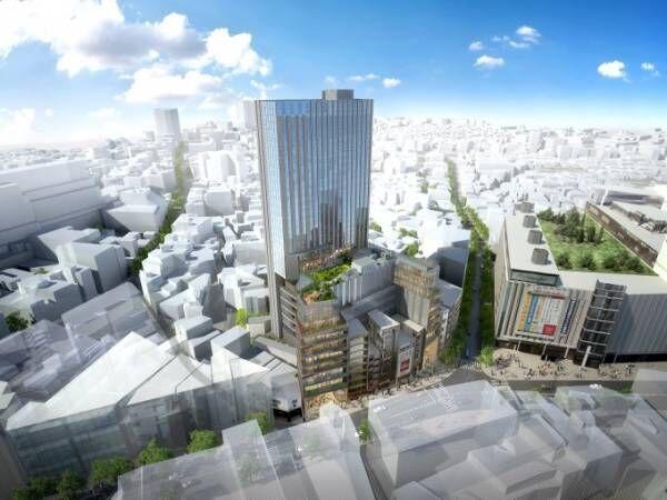 渋谷・道玄坂に新たな大型商業施設「(仮称)渋谷区道玄坂二丁目開発計画」商業店舗、オフィス、ホテル