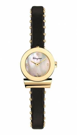 サルヴァトーレ フェラガモの腕時計「ガンチーニ ブレスレット」ダイヤ輝くミニサイズのドレスウォッチ