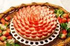 キル フェ ボン「北海道産 らいでんメロンのタルト&北海道日高産 すずあかねとココナッツのタルト」