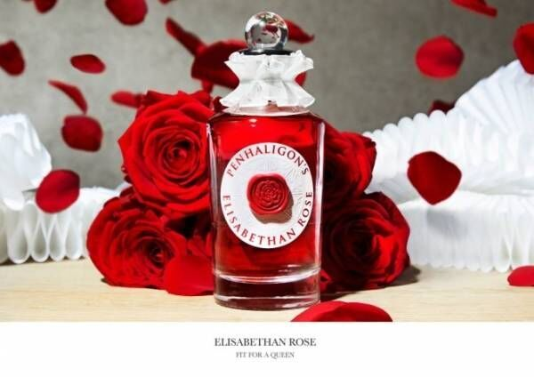 ペンハリガン「エリザベサン ローズ オードパルファム」威厳と繊細さを兼ね備えたバラの香り