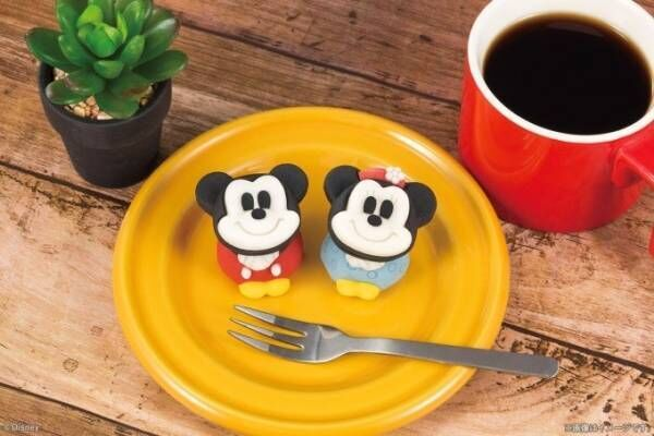 ミッキー&ミニーが和菓子に!デビュー当時の装いを再現したデザインで、全国セブン-イレブンに登場