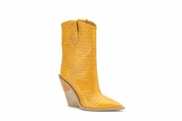 フェンディ新作ブーツ「カットウォーク」構築的なソールを合わせたモダンなウエスタンブーツ