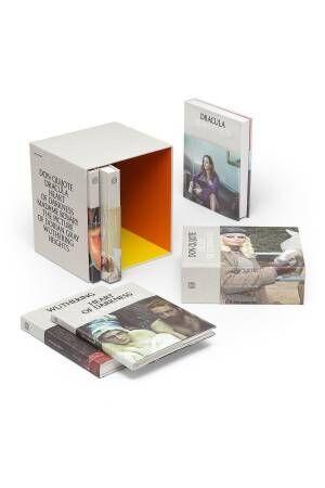 ロエベの限定古典小説セット「ロエベ クラシックス」ジョナサンが選ぶ6冊をスペシャルボックスと合わせて