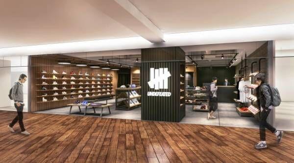 アンディフィーテッド、東京・ルミネエスト新宿に新店舗 - スニーカーから小物まで展開