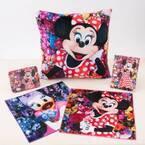 東京ディズニーランド×蜷川実花のコラボグッズ、ミニーマウス&デイジーダックのクッションやミラー