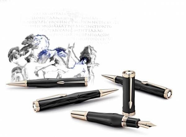 モンブランから古代ギリシャの叙事詩人・ホメロスの世界を表現した万年筆やボールペン