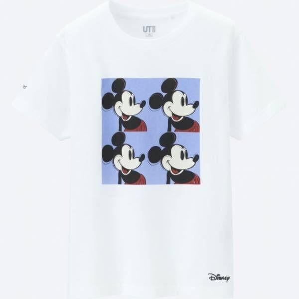 ユニクロ「UT」ディズニー・ミッキーマウスとアンディー・ウォーホルのTシャツやスウェット