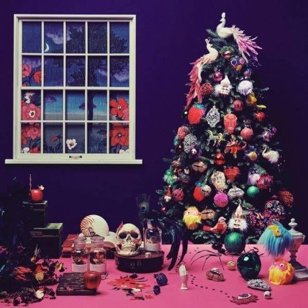 フランフランのクリスマス、ピンクのツリーや毒を効かせたスカル&モンスターオーナメント