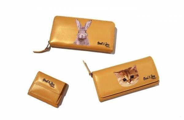 ポール & ジョー シスターの新作ウォレット - 猫&ウサギの顔をプリントした長財布や三つ折り