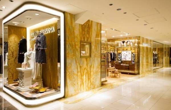 ドルチェ&ガッバーナの伊勢丹新宿店が移設 - 日本限定サクラ色のディヴォーション バッグも販売