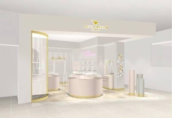 """オリビア・バートン国内初店舗がグランフロント大阪に、""""煌めく星""""を連想させる新ウォッチも"""