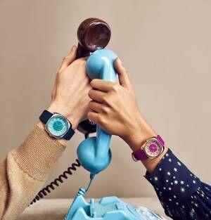 ポール・スミス ウォッチの新作腕時計「ダイヤル」古い電話機から着想を得たレトロモダンなデザイン