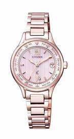 シチズン クロスシー×エスプリークの腕時計、文字盤にルージュ&イヤリングモチーフ - 限定コスメ付き