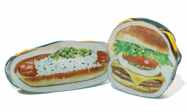 ニコアンド×フレッシュネスバーガー、ハンバーガー型iPhoneケースやホットドッグ型ポーチ