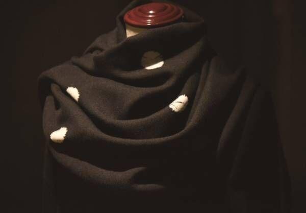 「Y's×千總」山本耀司監修の着物柄ストール&1点もの花柄友禅コート、京都タカシマヤで