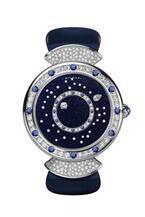 ブルガリのジュエリーウォッチ - ダイヤモンドの星が浮かぶ夜空のようなウォッチ