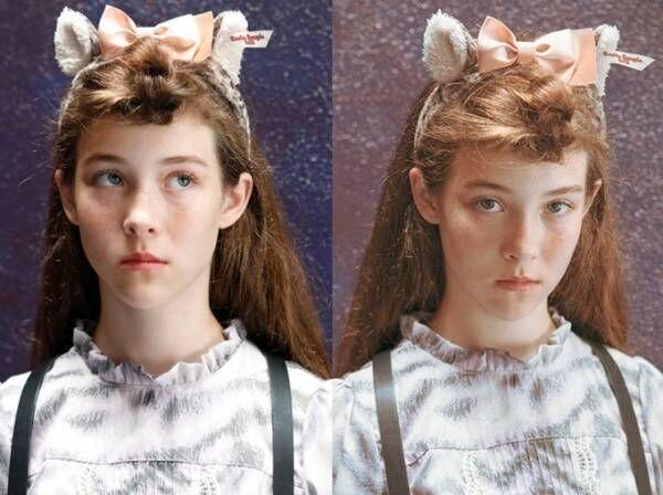 """エミリーテンプルキュート""""ネコの毛並み""""を再現したワンピース、ネコ耳付フードも"""
