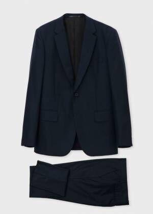 ポール・スミスのトラベルスーツ - アクティブな男性&女性に贈る、型崩れしにくい高機能スーツ