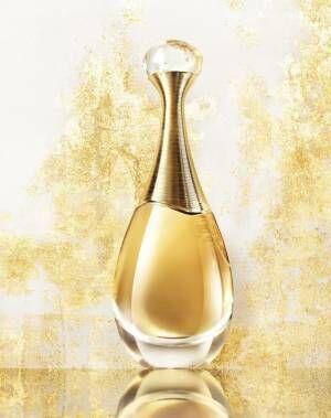 """ディオール""""ゴールドに輝く""""新香水「ジャドール アブソリュ」朝摘みジャスミンが贅沢に香る"""