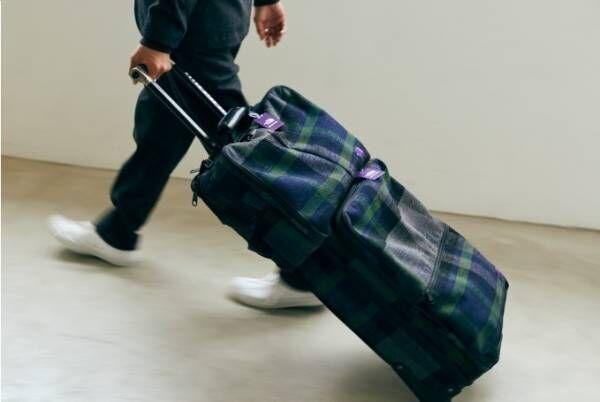 ザ・ノース・フェイス パープルレーベル×スパイク・ジョーンズ、チェック柄の3way&キャリーバッグ