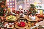 ヒルトン小田原リゾート&スパの苺クリスマススイーツブッフェ、特別装飾のアフタヌーンティーも