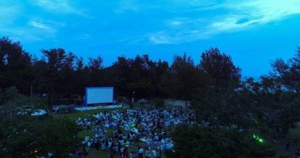 無料の野外映画イベント「調布リバーサイトシネマ」が多摩川河川敷で、『ピーターラビット』上映