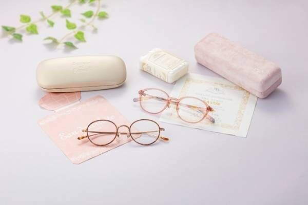 JINSからフランス石鹸ブランドのとコラボメガネ - パッケージデザインに着想、石鹸ノベルティも