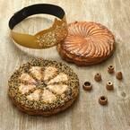 フレデリック・カッセル「ガレット・デ・ロワ」新年を祝うアーモンドクリームのパイ、胡麻&柚子風味も